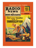 Radio News and Short Wave Radio: Start Your Vacation with a Transceptor Wall Decal