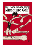 I've Gone Goofy over Minature Golf Wall Decal