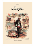 Judge: The Cause of It All Wall Decal