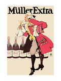 Muller Extra Wall Decal by Hans Rudi Erdt