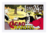 Karstel Cocoa Autocollant mural par Johan Georg Van Caspel