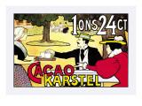 Karstel Cocoa Wandtattoo von Johan Georg Van Caspel