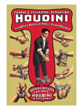 Houdini: The World's Handcuff King and Prison Breaker Wall Decal