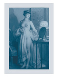 Le Miroir Wall Decal by Jules Scalbert