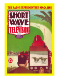 Short Wave and Television: Televised Horse Racing Wall Decal