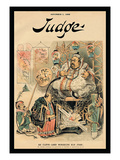 Judge Magazine: Ah Cleveland Worships His Joss Wall Decal by Bernhard Gillam