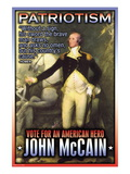 McCain, American Hero Wall Decal