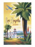 Los Angeles en clipper Adhésif mural par Kerne Erickson