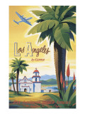 Los Angeles by Clipper Wall Decal by Kerne Erickson