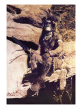 Hopi Chief Wall Decal by Carl And Grace Moon