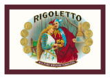 Rigoletto Cigars Wall Decal