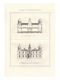 Mansion in Stuart Style Wall Decal by Richard Brown