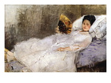 Madame Hubard Wall Decal by Berthe Morisot
