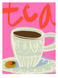 Retro Tea Wall Decal