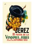 Jerez Fiesta de la Vendimia III Vinilos decorativos por  Nike