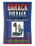 Barack Obama, Save Social Security Wall Decal