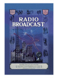Radio Broadcast, Building the R.B. Lab Receiver Wall Decal