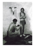 The Medicine Man Wall Decal by Carl And Grace Moon