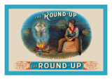 Round-Up Cigars Wall Decal