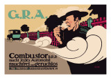 G.R.A.: Smokeless and Odorless Automobiles Wall Decal by Hans Rudi Erdt