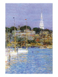 Cat Boats, Newport Wall Decal by Childe Hassam