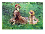 In The Garden Wall Decal by Berthe Morisot