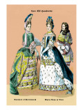Dutchess of Portsmouth and Maria Ann of Bern Wall Decal by Richard Brown