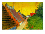 Saintes-Maries Road Through The Town Wallstickers af Vincent van Gogh