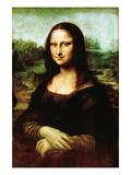 Mona Lisa, La Gioconda Wandtattoo von  Leonardo da Vinci