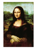 Mona Lisa, La Gioconda Wall Decal by Leonardo da Vinci 