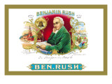 Benjamin Rush Cigars Wall Decal
