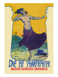 Die Elf Scharfrichter Wall Decal by Serapion Grab