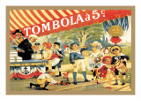 Tombola Wall Decal by Thophile Alexandre Steinlen