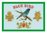 Blue Bird Cigars Wall Decal