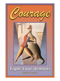 Courage Wall Decal