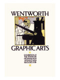 Wentworth Graphics Arts Wall Decal by Vojtech Preissig