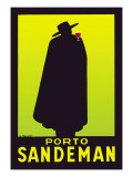 Porto Sandeman Wall Decal by Georges Massiot