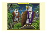 A Convocation of Imperial Eagles Wall Decal by Richard Kelly