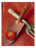 Trowel and Blossom Wall Decal