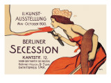Berlin Art Exhibition, 1900 Wall Decal by Wilhelm Schulz