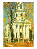 Church At Old Lyme, Connecticut Wall Decal by Childe Hassam