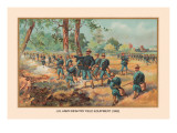 Infantry Field Equipment, 1892 Wall Decal by Arthur Wagner