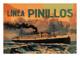 Pinillos Cruise Line Wall Decal
