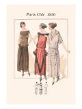 Tea Dresses Wall Decal