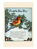 Fiddle Dee Dee Wall Decal by Eugene Field