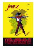Jerez Fiesta de la Vendimia XX Wall Decal by Perez