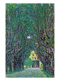 Way To The Park Wall Decal by Gustav Klimt