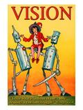 Vision Wallstickers af Wilbur Pierce