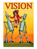 Vision Wall Decal by Wilbur Pierce