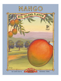 Mangue Autocollant mural par Kerne Erickson